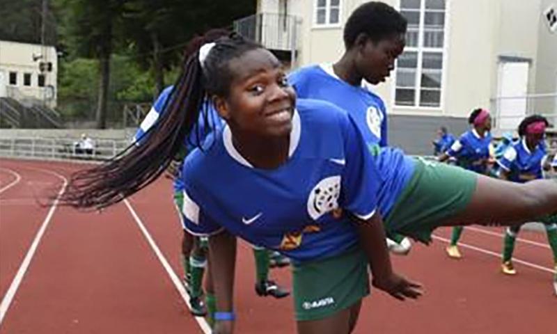 Vill förändra normer med hjälp av fotbollen