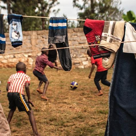 Agape Volunteers Football