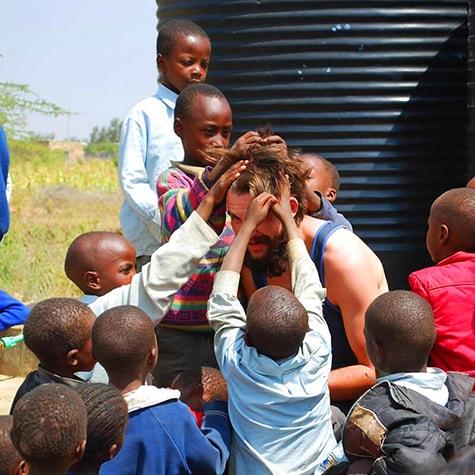 Hair Playing in Kenya
