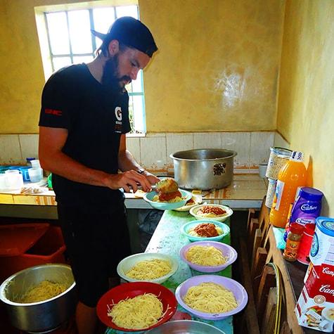 Food Preparation in Ghana