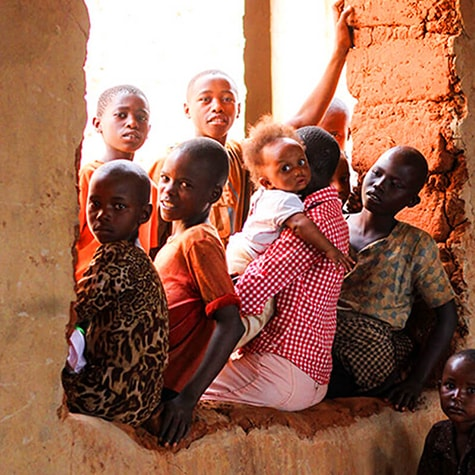 Group of Children in Kenya
