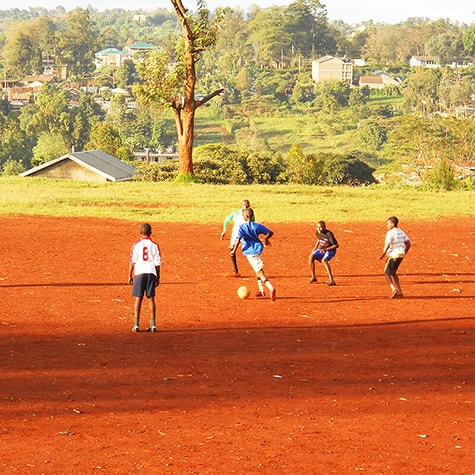 Kenya football academy training