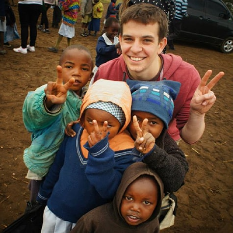 volunteer orphan kenya IDP camp