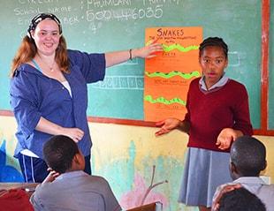 Teaching Volunteering in Tanzania