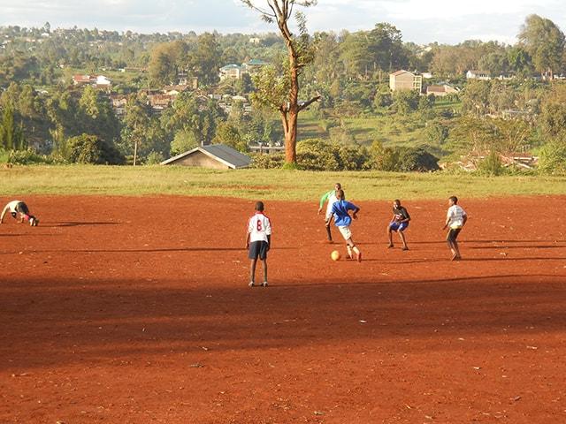 The Agape Volunteers Football Academy, Kenya