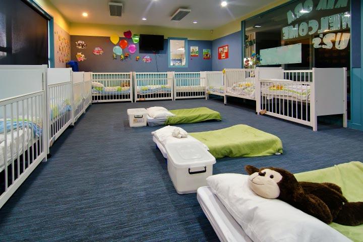 Harbourside Kids Childcare Centre baby sleep area