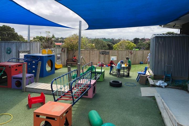 Harbourside Kids Childcare Centre Over 2s outdoor area