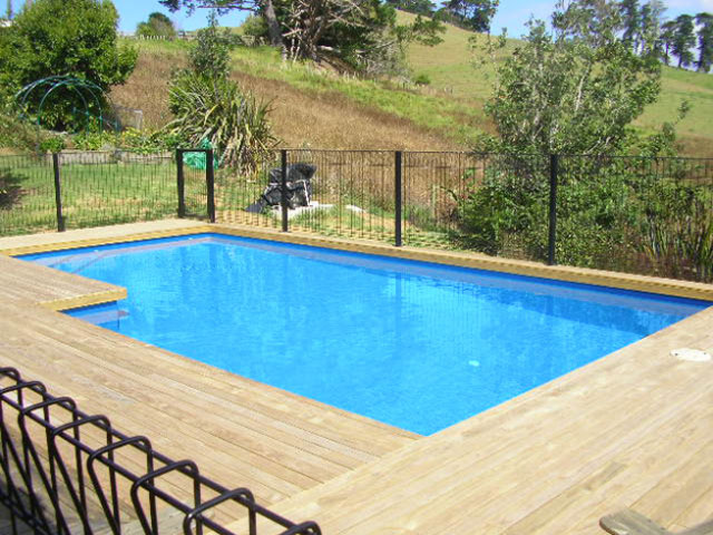 Pool built by Northern Pools for Carol Weaver - featured image