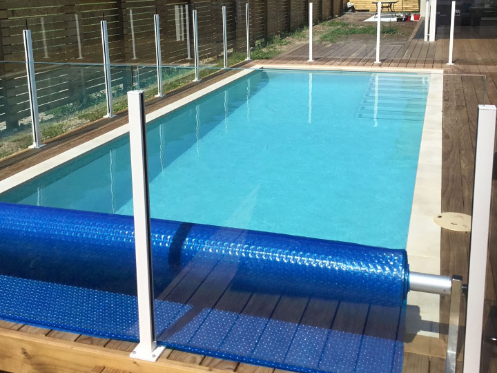 Pool built by Northern Pools for Martin & Rebecca West