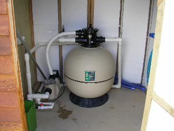 Pool Filtration Housing (internal)