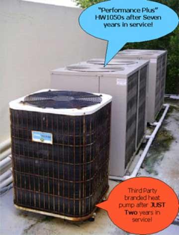 Heat Pump Cabinet Comparison