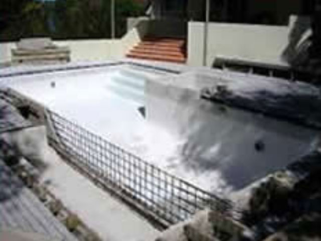 Pool Refurbishment before