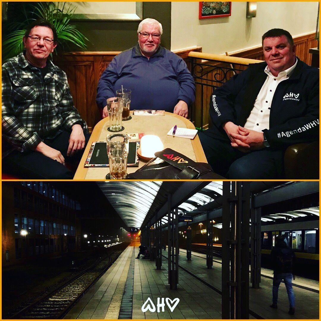 """Treffen mit Fahrgastverband """"Pro Bahn"""" - Agenda WHV"""