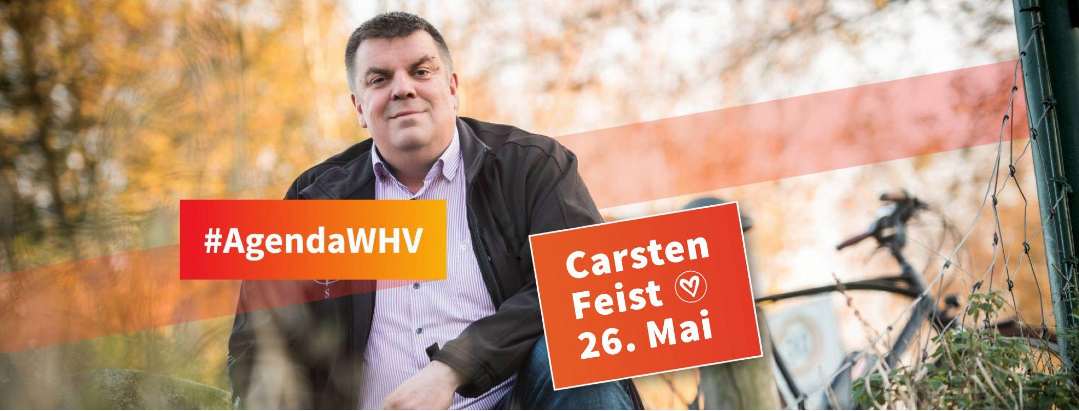 Carsten Feist - AgendaWHV - OB Wahl Wilhelmshaven