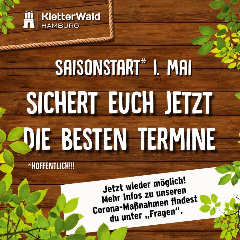 Saisonstart Kletterwald
