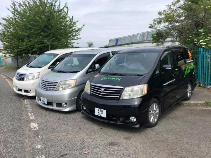 Toyota Alphard Fleet