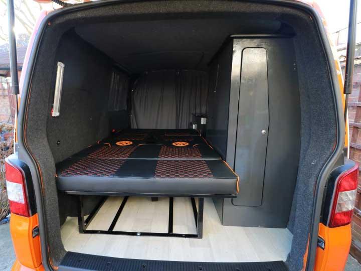 Exterior Rear: Bed