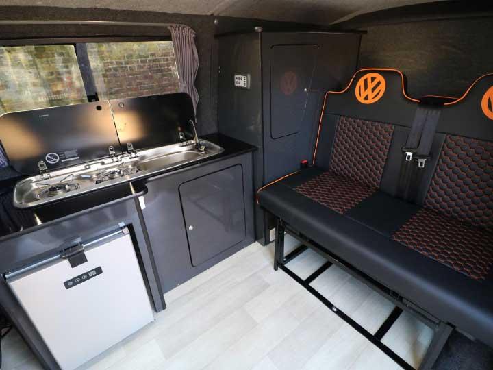 Cabin Interior: Kitchen
