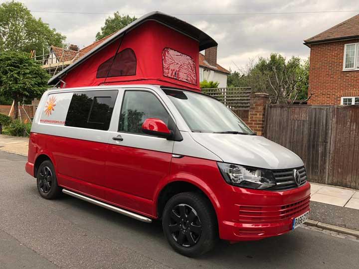 Getaway Campers Volkswagen Transporter Pop Top