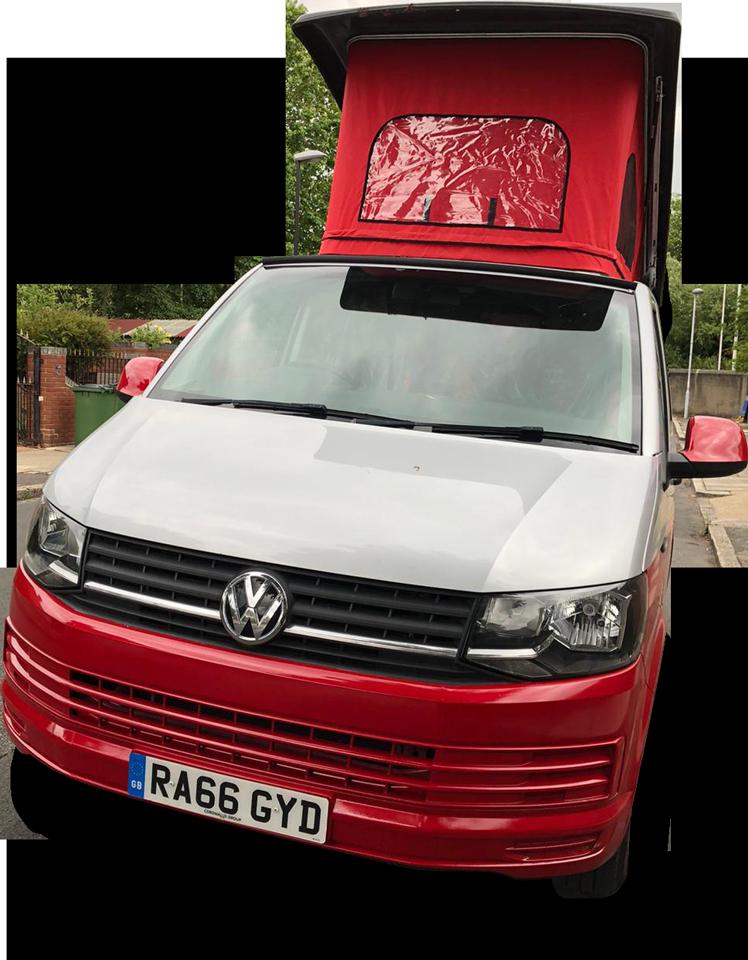 Volkswagen Transporter Pop Top