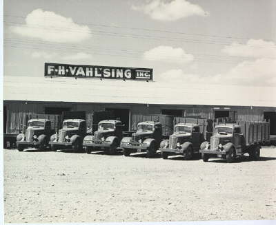 Vahlsing vegetable shipping company