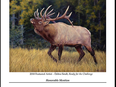 Featured Artist Rocky Mountain Elk Foundation 2018