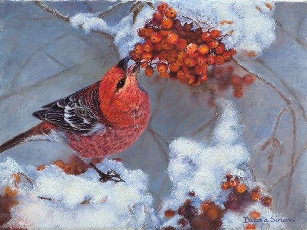 """""""Icy Treats"""" - 9""""x 12"""" Oil on Linen-Prints Available: For more information call: 1.303.816.5415"""