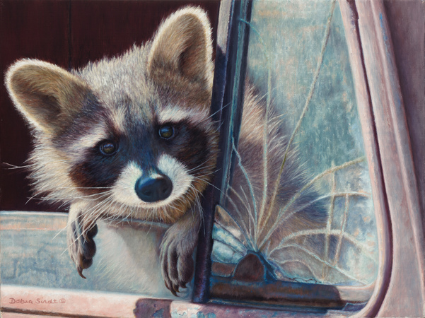 """""""Are We There Yet"""" - 12""""x 16"""" Oil on Linen-Prints Available, For more Information call: 1.303.816.5415"""
