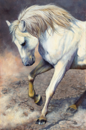 """""""Victory Dance"""" - 36""""x 24"""" Oil on Linen, Original Available, Prints Available"""